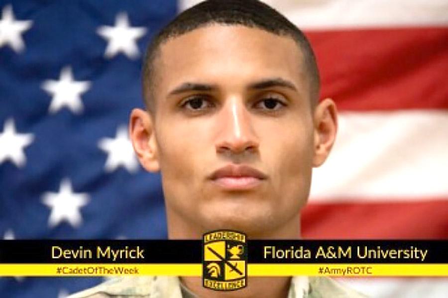 Devin Myrick - Cadet Of Week