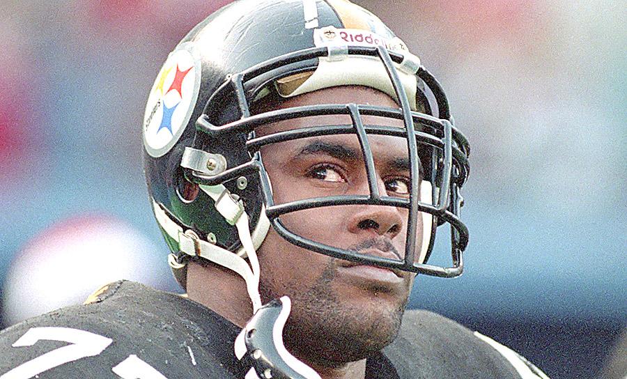Steelers Carlton Haselrig