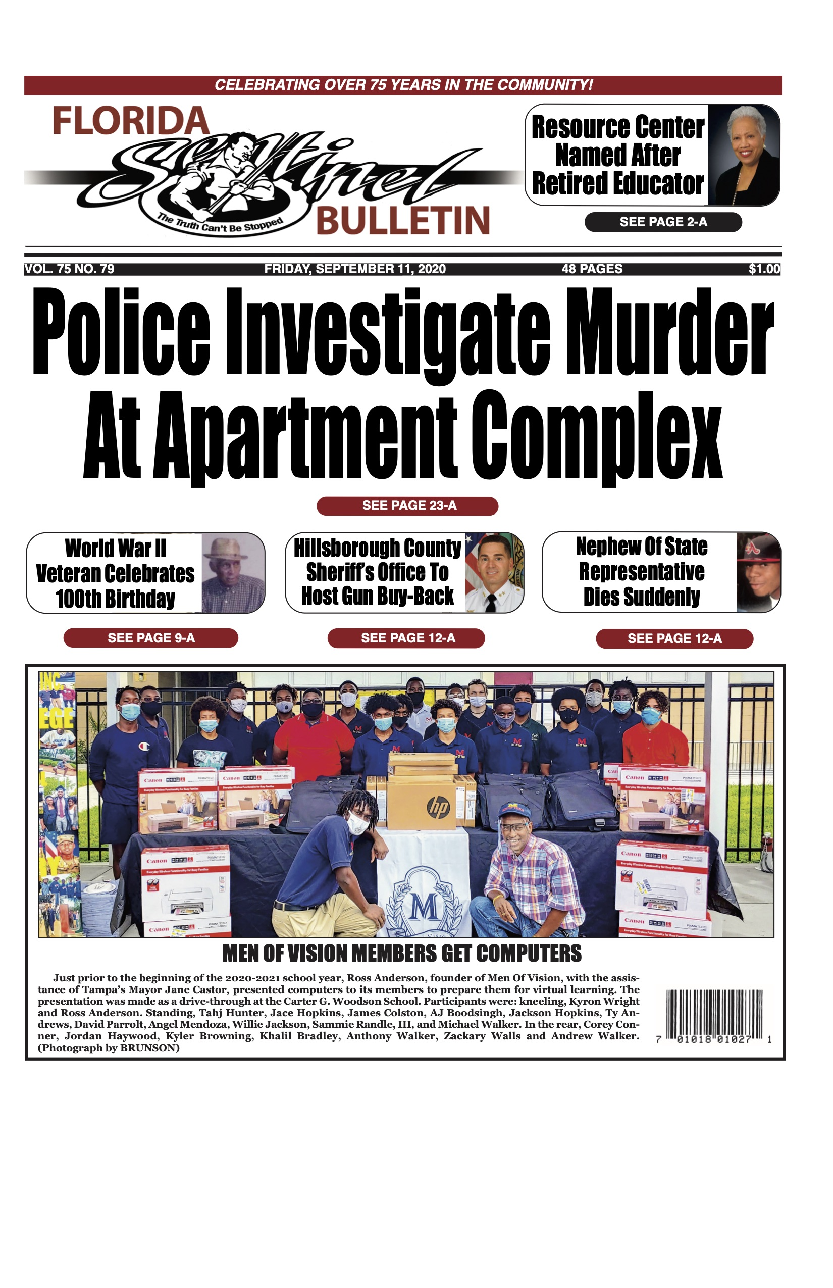 Front Page 9-11-20