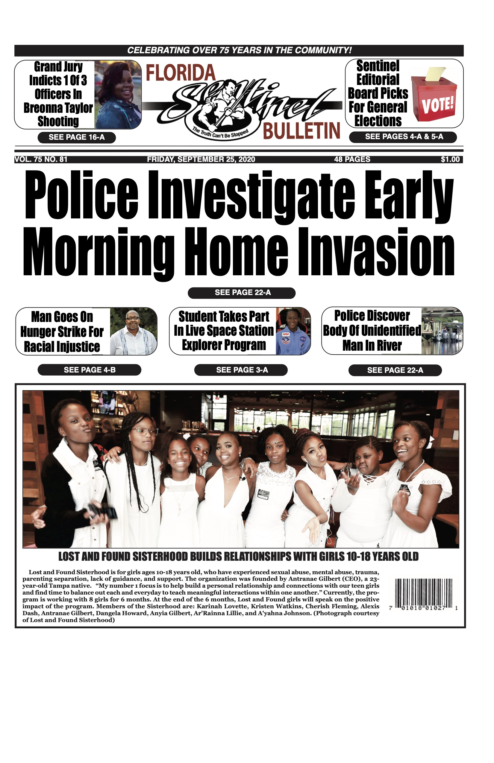 Front Page 9-25-20
