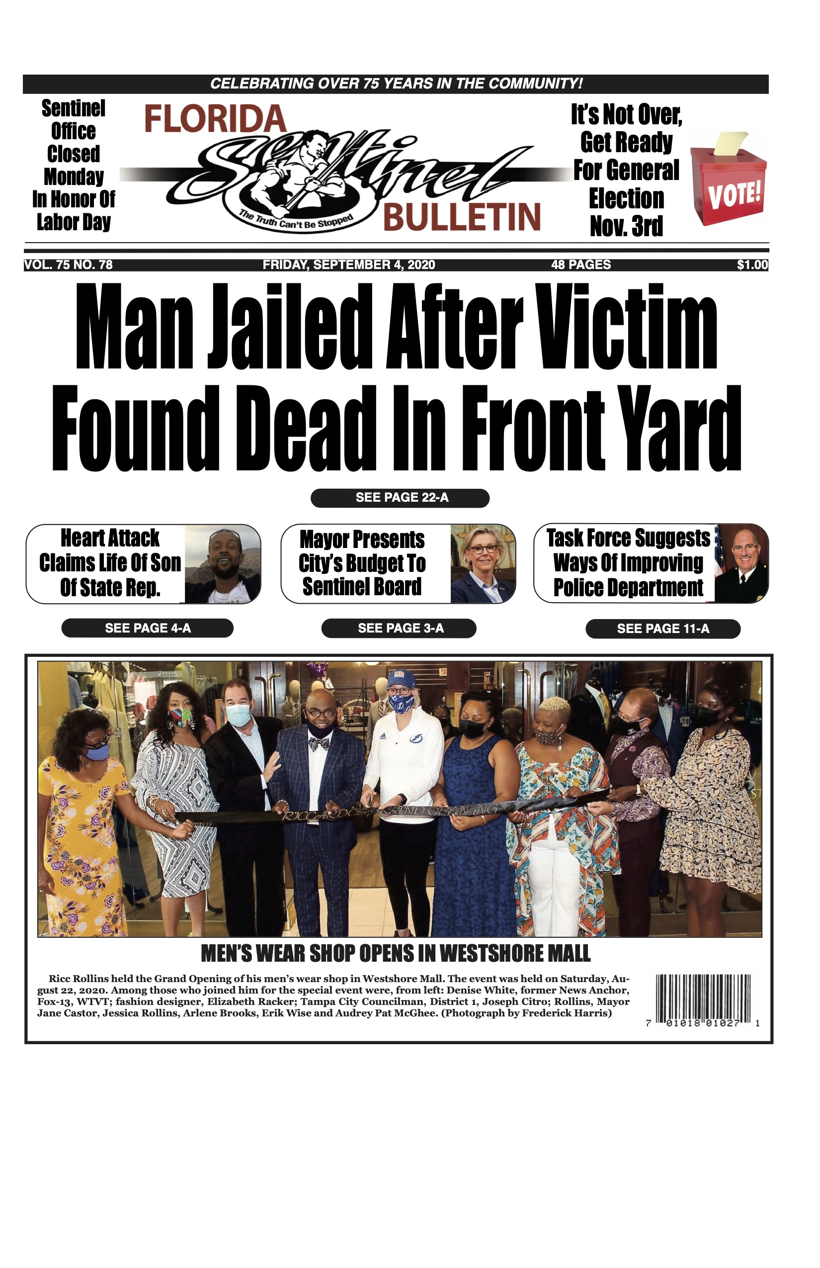 Front Page 9-4-20
