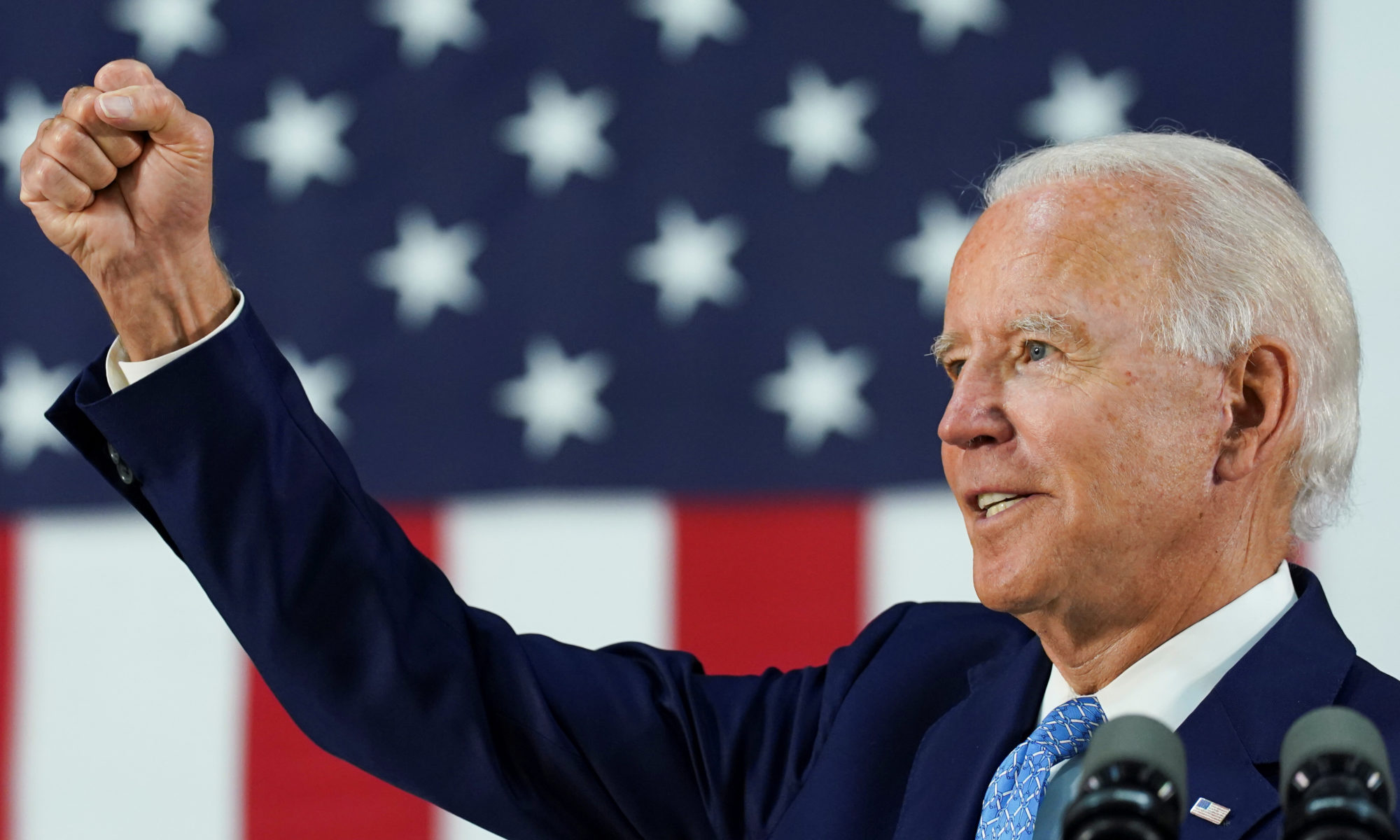 Democratic U.S. presidential candidate Biden holds campaign event in Wilmington, Delaware