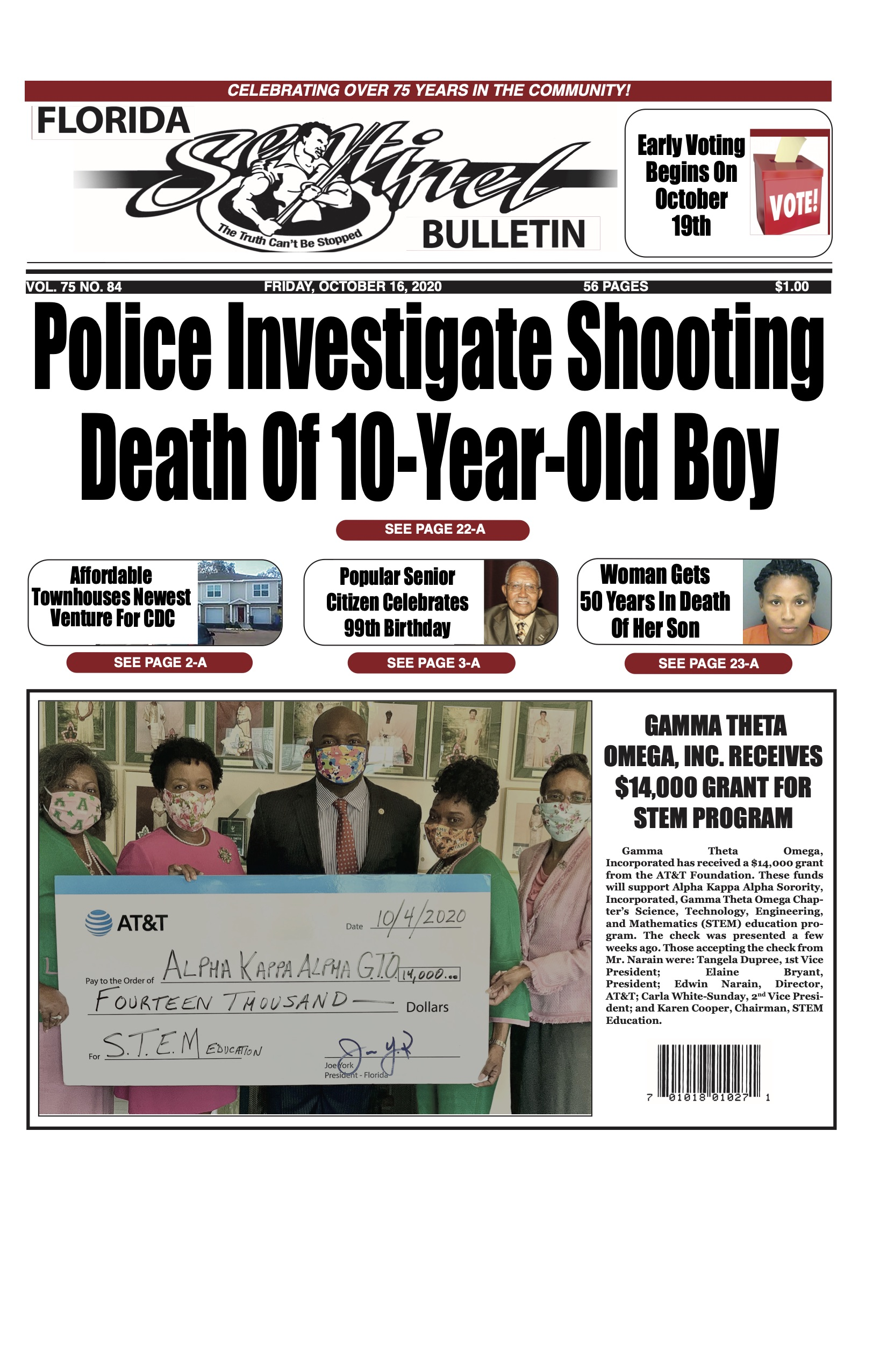 Front Page 10-16-20