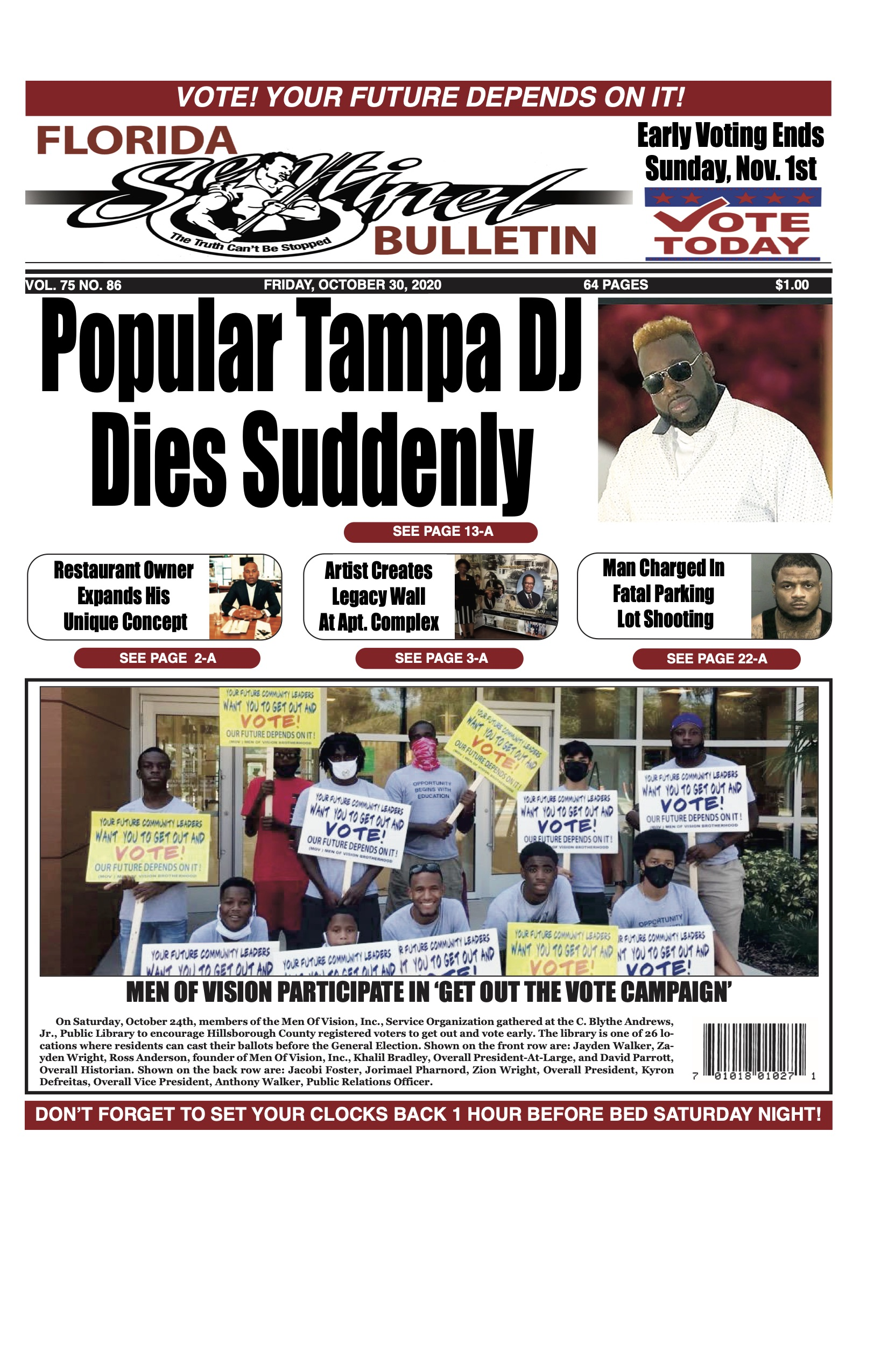 Front Page 10-30-20