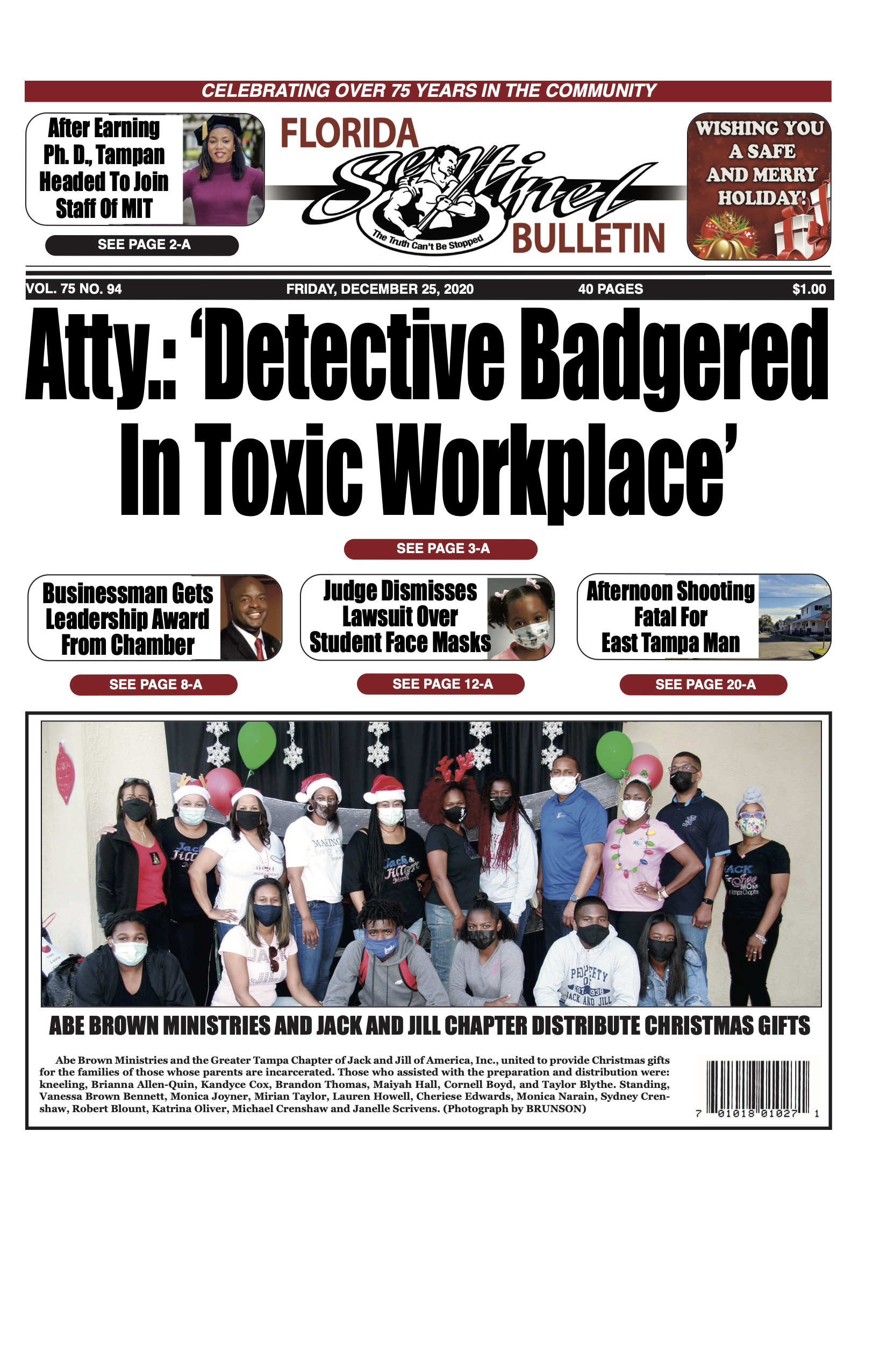 Front Page 12-25-20