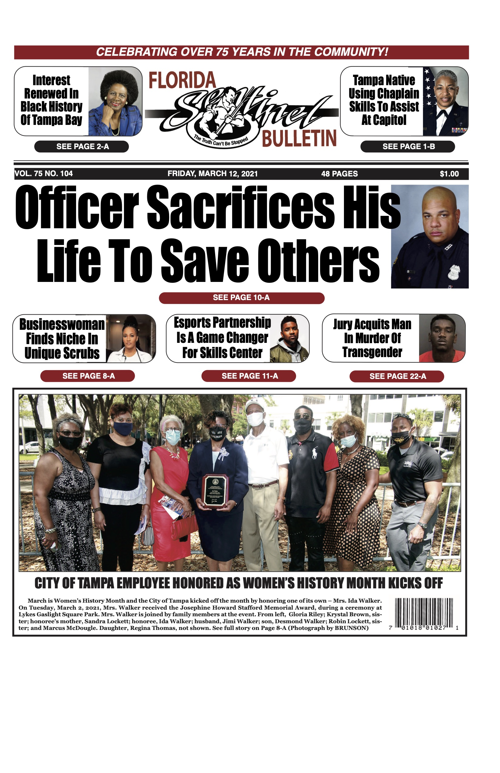 Front Page 3-12-21