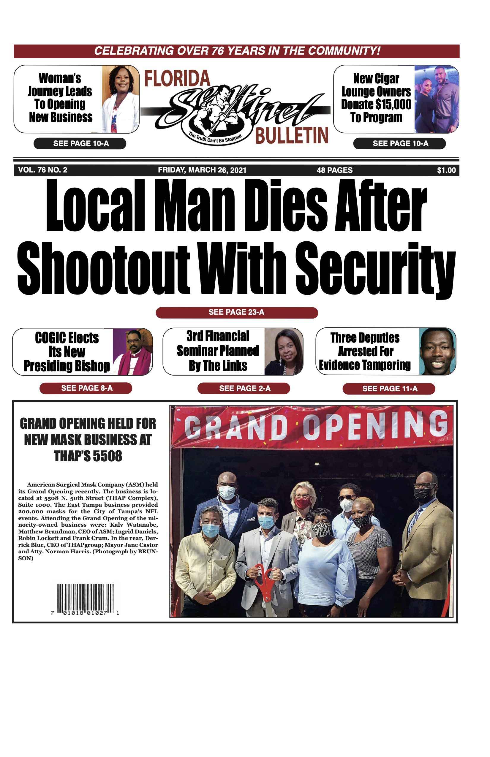 Front Page 3-26-21