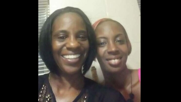 Crystle Galloway and Mom Nichol Black