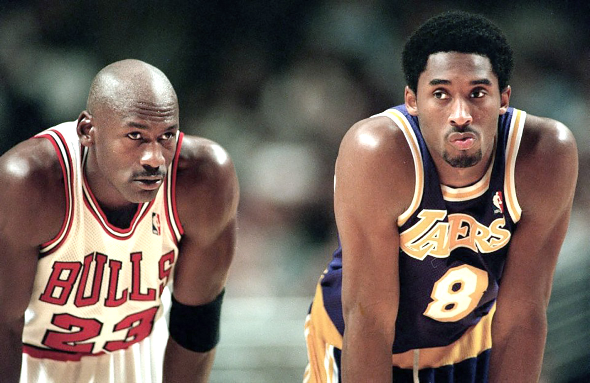Michael & Kobe