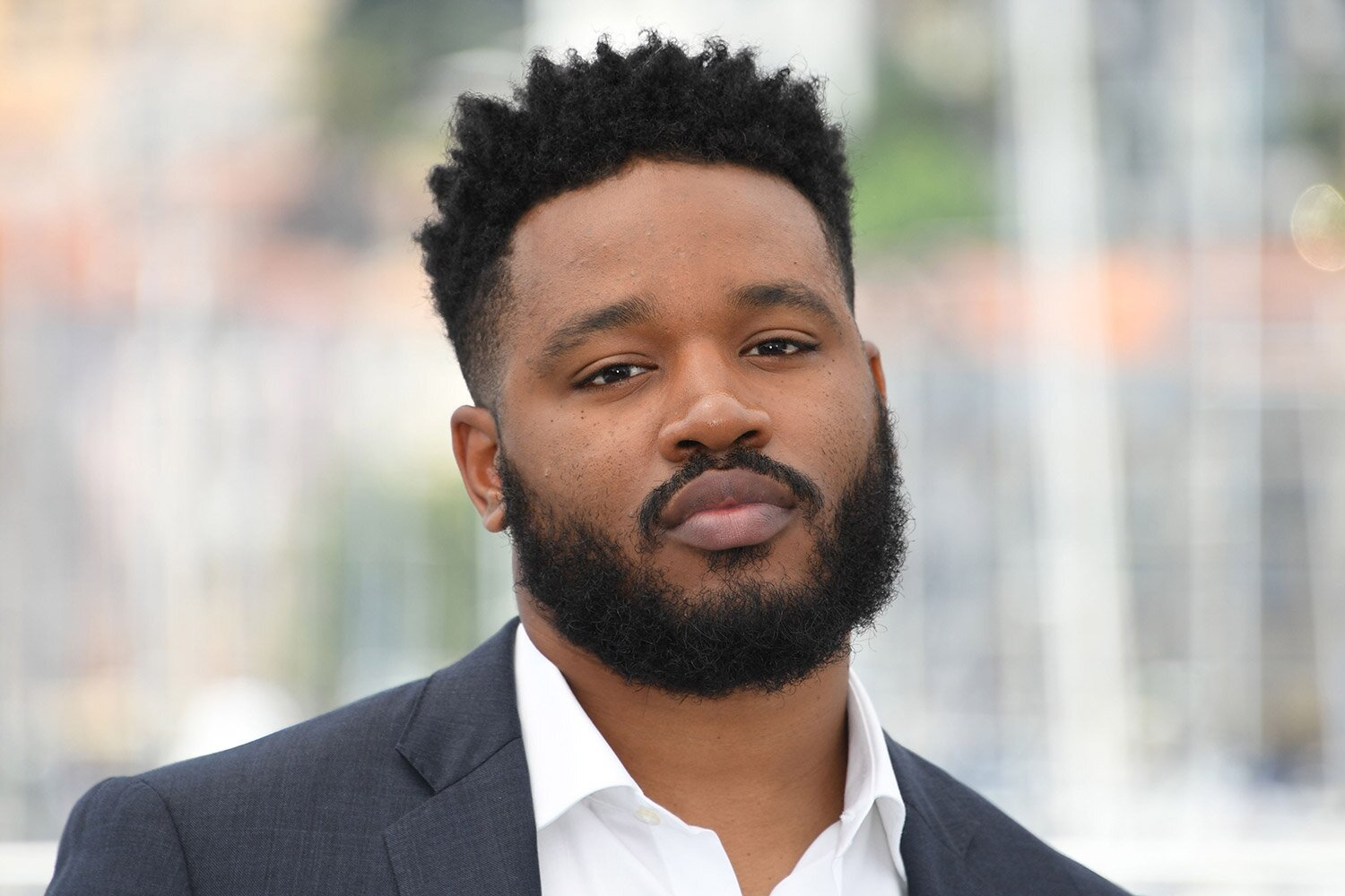US director Ryan Coogler poses on May 10, 2018 during a photocall at the 71st edition of the Cannes Film Festival in Cannes, southern France. (Photo by LOIC VENANCE / AFP)        (Photo credit should read LOIC VENANCE/AFP via Getty Images)