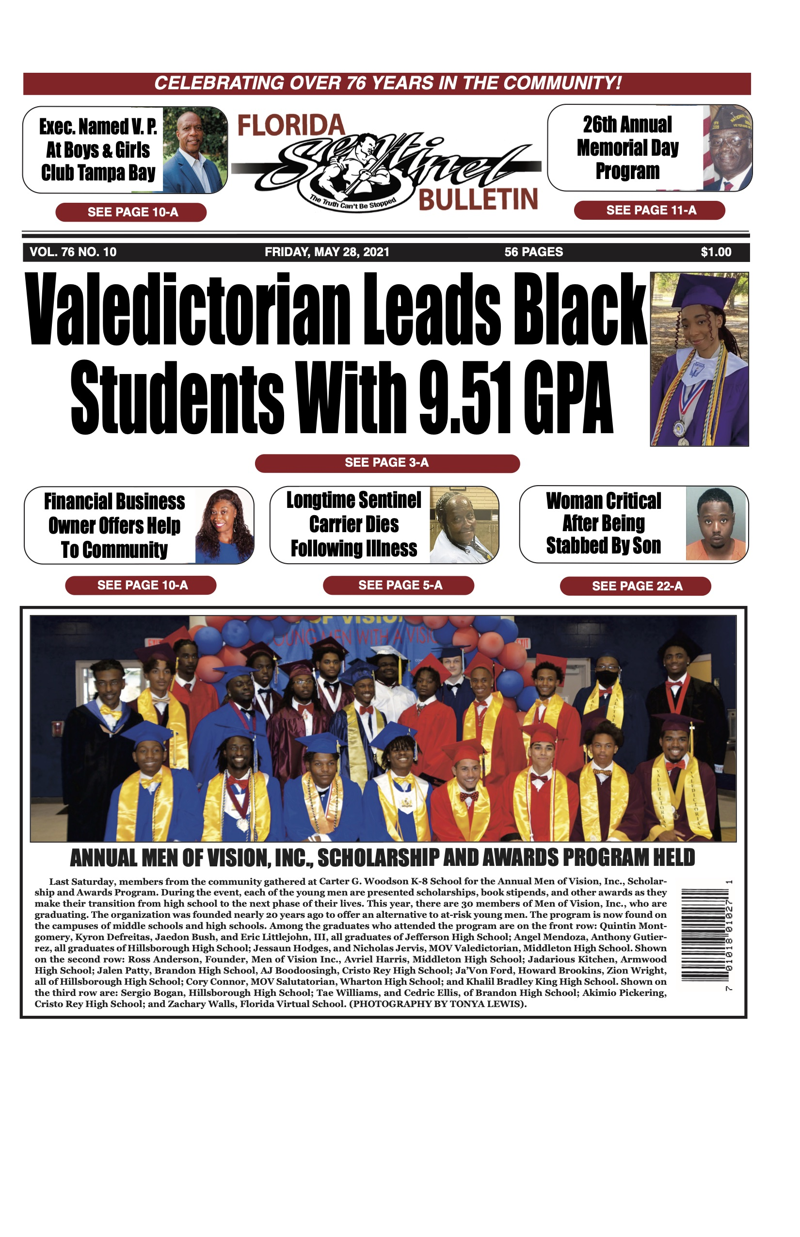 Front Page 5-28-21