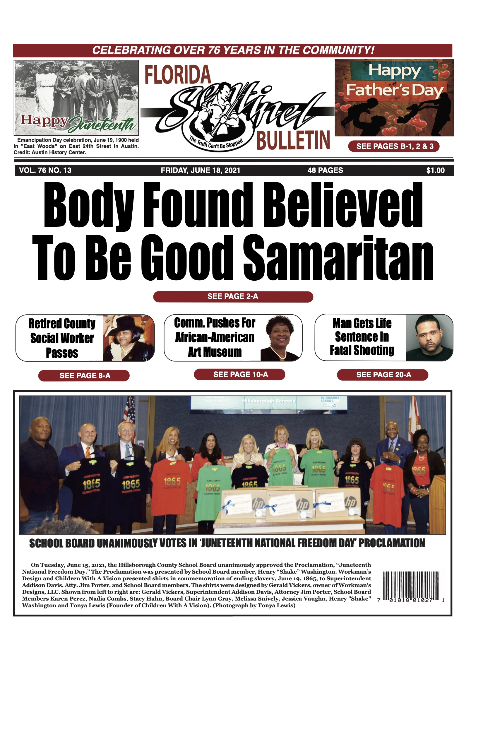 Front Page 6-18-21