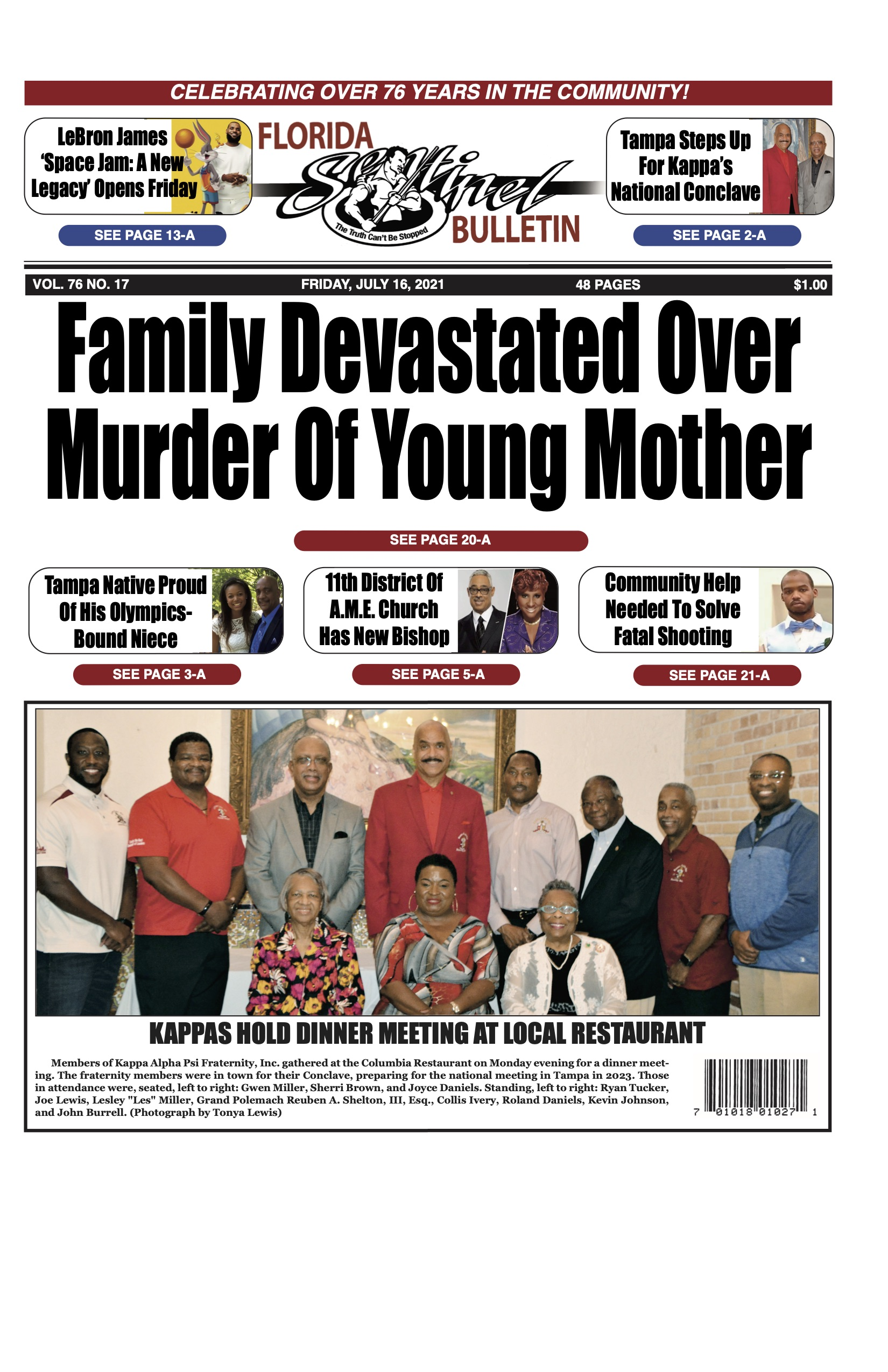 Front Page 7-16-21