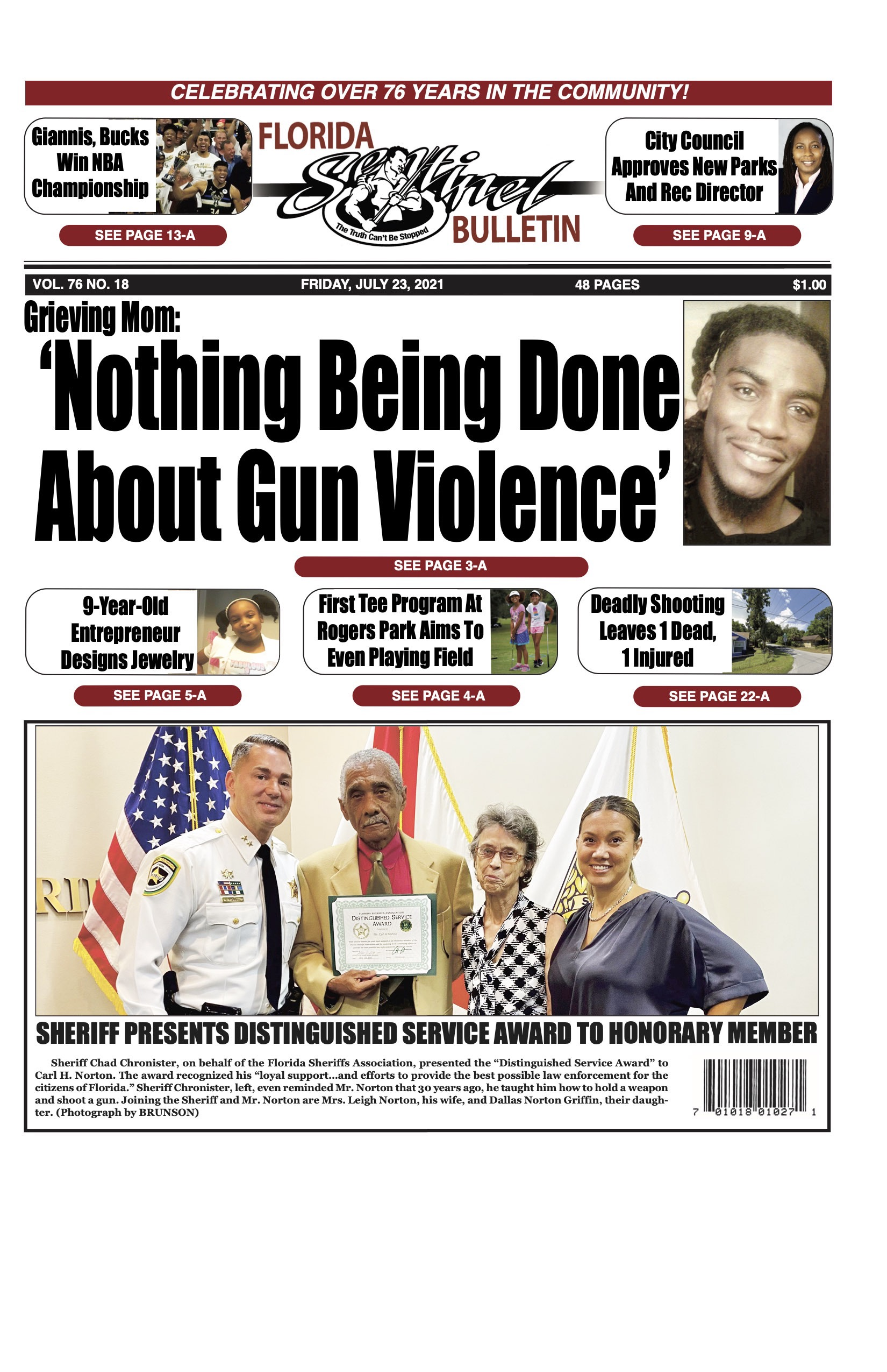 Front Page 7-23-21