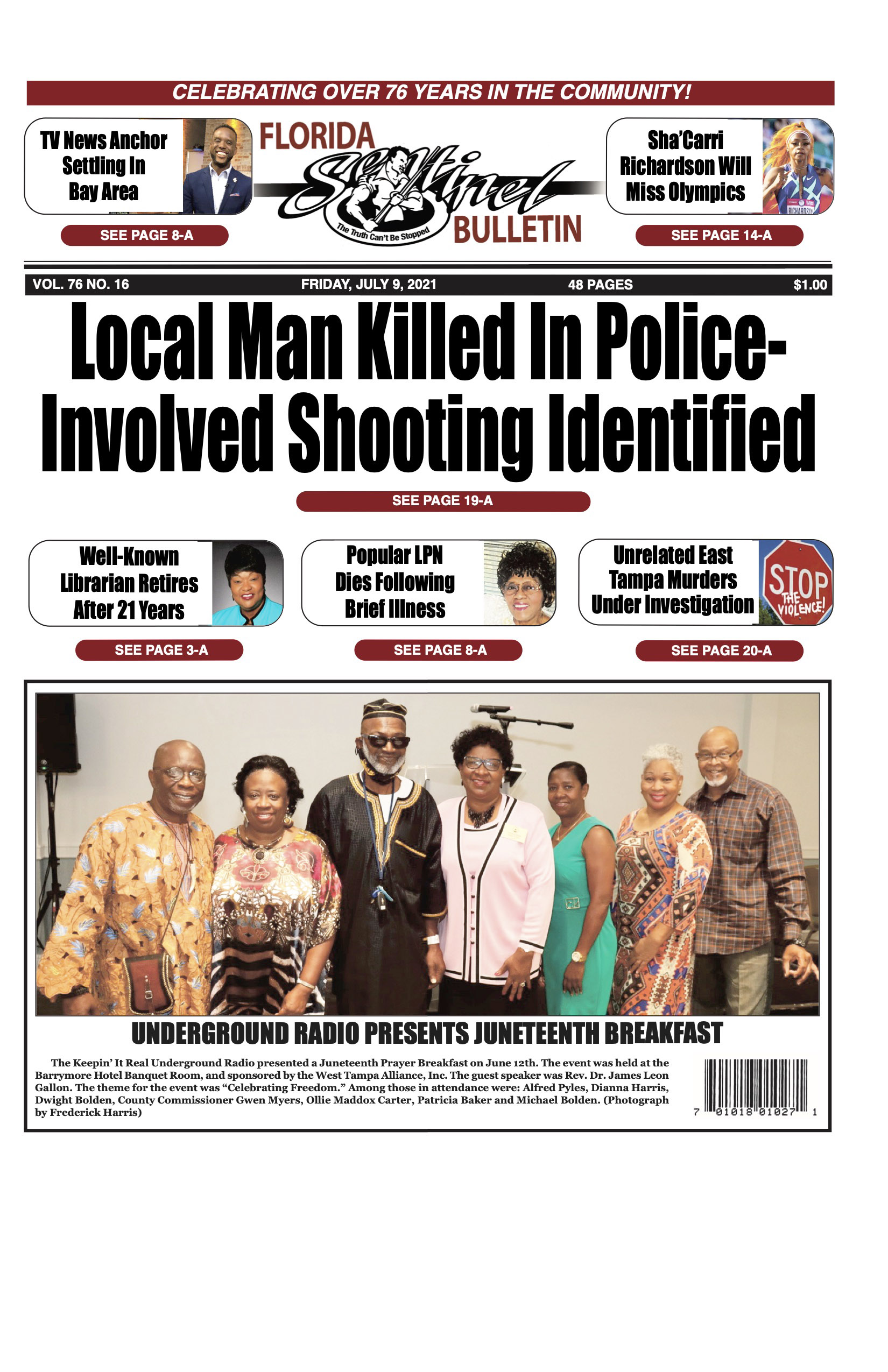 Front Page 7-9-21