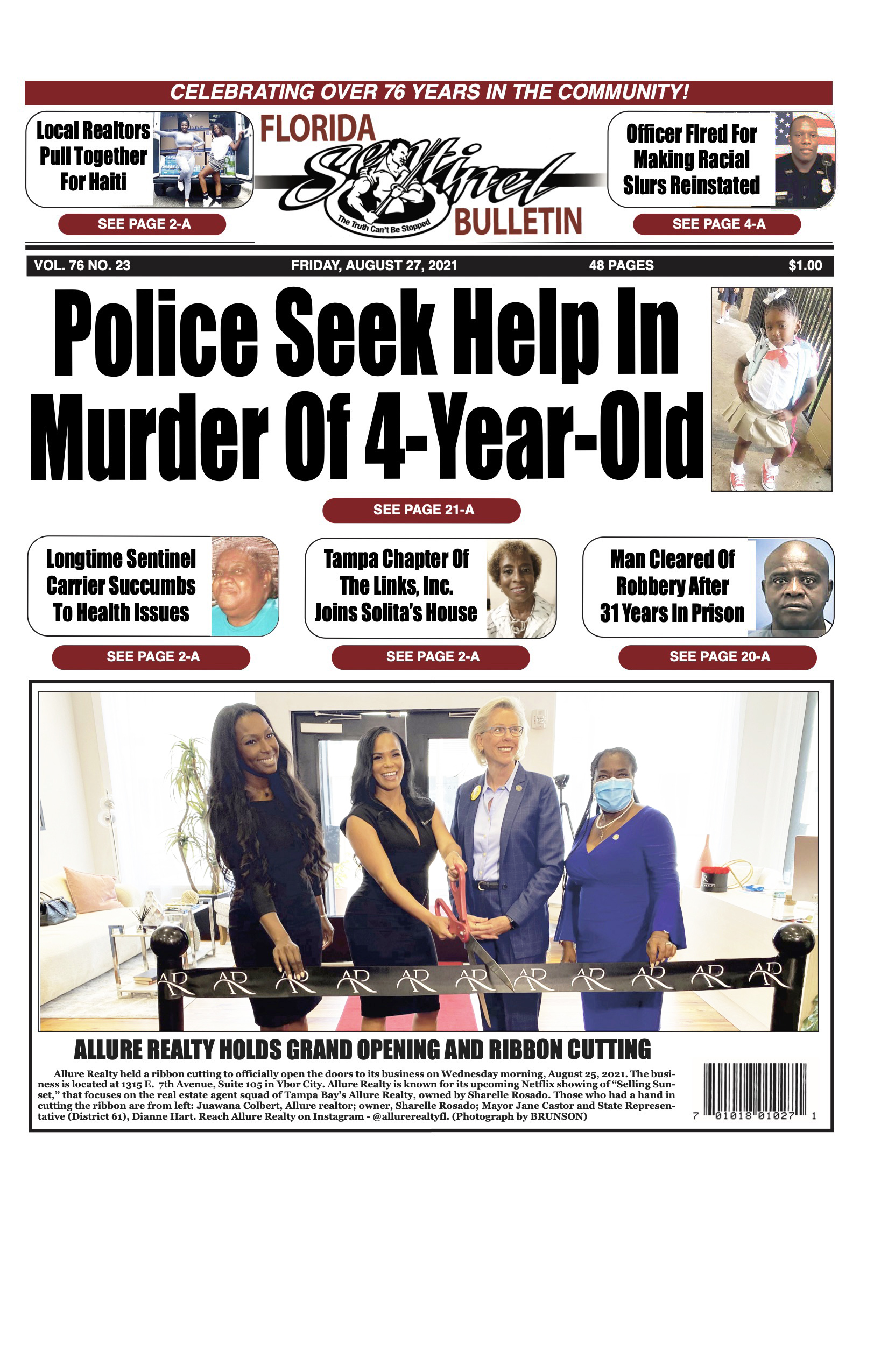 Front Page 8-27-21